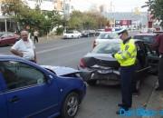 Accident pe strada Ştefan cel Mare!