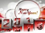 La mulţi ani de Anul Nou !