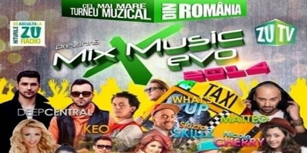 mix music evo 2014